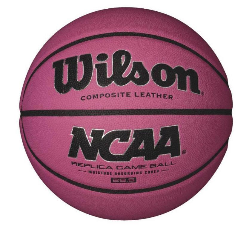 Wilson NCAA Replica Game Ball Pink, размер 6